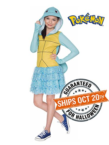 Rubie's Costume Pokemon Squirtle Child Hooded Costume Dress Costume