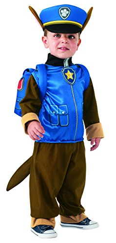 Rubies-Costume-Toddler-PAW-Patrol-Chase-Costume-X-Small-Child-Size-0