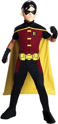 Rubies-Costume-Young-Justice-Robin-Child-Costume-Medium-0