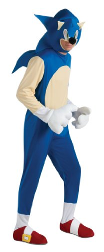 Rubies-Costumes-Mens-Sonic-The-Hedgehog-Deluxe-Adult-Costume-0