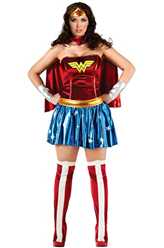 Rubies Deluxe Wonder Woman Plus Size Costume-