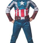 Rubies-Marvel-Comics-Collection-Captain-America-The-Winter-Soldier-Fiber-Filled-Retro-Suit-Captain-America-Costume-Child-Small-0