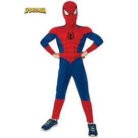 Rubies-Marvel-Ultimate-Spider-Man-Deluxe-Muscle-Chest-Costume-0-0