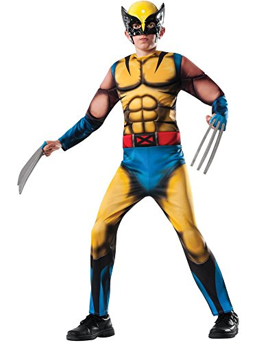 Rubies Marvel Universe Classic Collection Deluxe Fiber-Filled Muscle-Chest Wolverine Costume