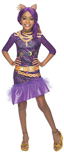 Rubies-Monster-High-Frights-Camera-Action-Clawdeen-Wolf-Costume-Child-Small-0