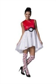 Rubies-Womens-Pokemon-Pokeball-Costume-Dress-0