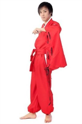 SDWKIT-InuYasha-Cosplay-Costume-Half-Demon-InuYasha-Red-Outfit-Set-V2-0-0