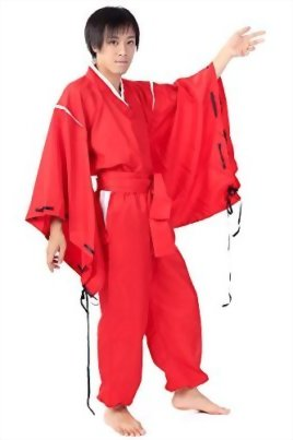 SDWKIT-InuYasha-Cosplay-Costume-Half-Demon-InuYasha-Red-Outfit-Set-V2-0-1