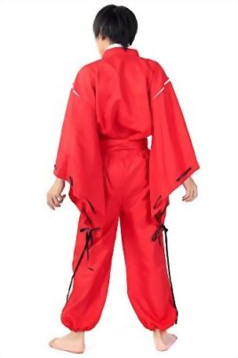 SDWKIT-InuYasha-Cosplay-Costume-Half-Demon-InuYasha-Red-Outfit-Set-V2-0-2
