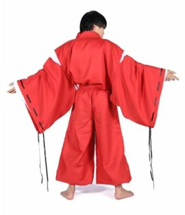 SDWKIT-Japanese-Anime-InuYasha-Cosplay-Costume-InuYasha-Set-0-2