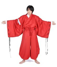 SDWKIT-Japanese-Anime-InuYasha-Cosplay-Costume-InuYasha-Set-0