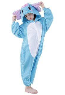 SWEETXIN-Halloween-Unisex-Children-BlueGray-Elephant-Animal-Cosplay-Costumes-0