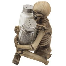 Scary-Skeleton-Glass-Salt-and-Pepper-Shaker-Set-with-Decorative-Spice-Rack-Display-Stand-Holder-Figurine-for-Spooky-Halloween-Party-Decorations-and-Skulls-Skeletons-Kitchen-Decor-Table-Centerpiece-Scu-0-0