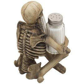Scary-Skeleton-Glass-Salt-and-Pepper-Shaker-Set-with-Decorative-Spice-Rack-Display-Stand-Holder-Figurine-for-Spooky-Halloween-Party-Decorations-and-Skulls-Skeletons-Kitchen-Decor-Table-Centerpiece-Scu-0-2