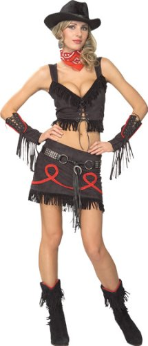 Secret Wishes Women's Sassy Cowgirl Adult Costume