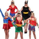 Sexy-Super-hero-Superwoman-Fancy-Dress-Role-Play-Outfit-Comic-Book-Movie-Costume-0-0