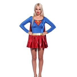 Sexy-Super-hero-Superwoman-Fancy-Dress-Role-Play-Outfit-Comic-Book-Movie-Costume-0