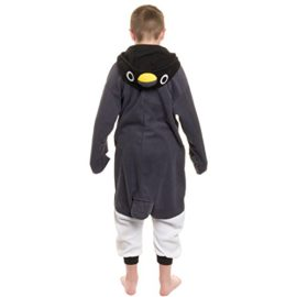 Silver-Lilly-Kids-Penguin-Animal-Costume-Childrens-Plush-One-Piece-Pajamas-0-0