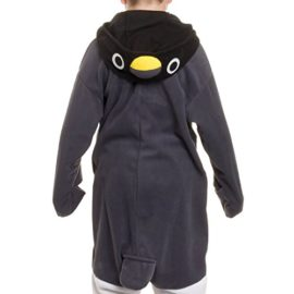 Silver-Lilly-Kids-Penguin-Animal-Costume-Childrens-Plush-One-Piece-Pajamas-0-1