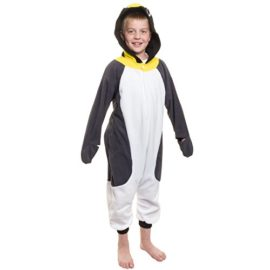 Silver-Lilly-Kids-Penguin-Animal-Costume-Childrens-Plush-One-Piece-Pajamas-0