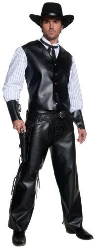 Smiffy's Men's Authentic Gun Slinger Costume