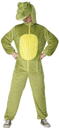 Smiffys-Mens-Crocodile-Costume-Includes-Jumpsuit-with-Hood-0-0