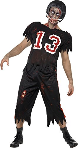 Smiffys Men's High School Horror American Footballer Costume