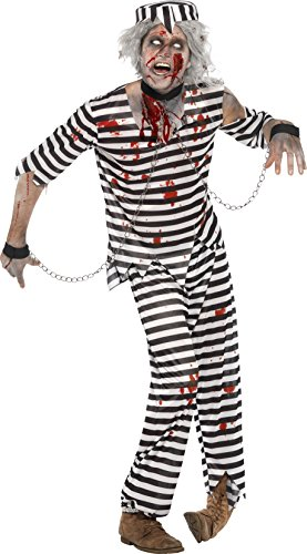Smiffys Men's Zombie Convict Costume