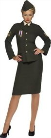 Smiffys-Womens-Wartime-Officer-Costume-0