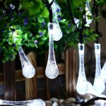 Solar-Christmas-Lights-Qedertek-192-Ft-8-Modes-30-Water-Drop-LED-Led-Fairy-Lighting-for-Garden-Decorations-Fence-PatioXmas-Wedding-Party-and-Holiday-0-3
