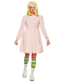 Spirit-Halloween-Adult-Replica-Eleven-Costume-Stranger-Things-0