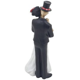 Spooky-Skeleton-Bride-and-Groom-Wedding-Couple-Statue-for-Halloween-Party-Decorations-or-Scary-Gothic-Dcor-Figurines-As-Wedding-Gifts-for-Couples-0-2