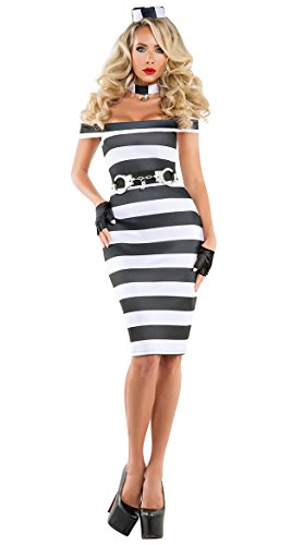 Starline, LLC. womens Women's Pinup Prisoner Costume