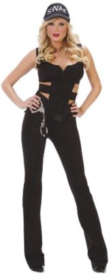 Starline-Sexy-SWAT-Womens-Costume-Set-with-Handcuffs-0