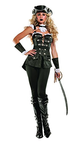 Starline Women's Noir Pirate Costume