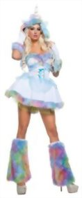 Starline-Womens-Unicorn-Fantasy-4-Piece-Costume-Dress-Set-0