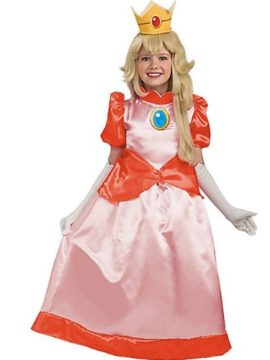 Super-Mario-Brothers-Childs-Deluxe-Costume-Princess-Peach-Costume-0