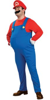 Super-Mario-Deluxe-Adult-Mario-Costume-Official-Licensed-Large-0