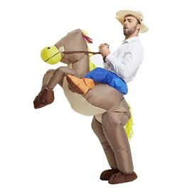 TOLOCO-Inflatable-Western-Cowboy-Riding-Horse-Halloween-Costume-0-0