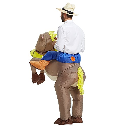 TOLOCO-Inflatable-Western-Cowboy-Riding-Horse-Halloween-Costume-0-1
