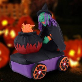 Tangkula-54FT-Halloween-Inflatable-Witch-Cauldron-Lighted-YardIndoor-Decoration-Airblown-0-0