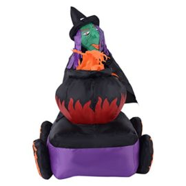Tangkula-54FT-Halloween-Inflatable-Witch-Cauldron-Lighted-YardIndoor-Decoration-Airblown-0-1