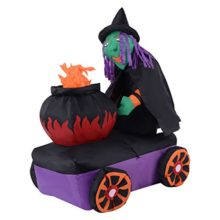 Tangkula-54FT-Halloween-Inflatable-Witch-Cauldron-Lighted-YardIndoor-Decoration-Airblown-0