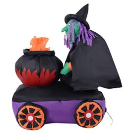 Tangkula-54FT-Halloween-Inflatable-Witch-Cauldron-Lighted-YardIndoor-Decoration-Airblown-0-3