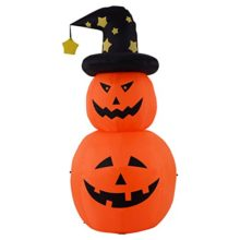 Tangkula-6-FT-Inflatable-Halloween-Rotatable-Stack-Pumpkin-Decoration-Lighted-Air-Blown-0