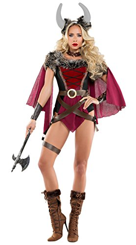 Voluptuous Viking Costume, Sexy Voluptuous Viking Costume