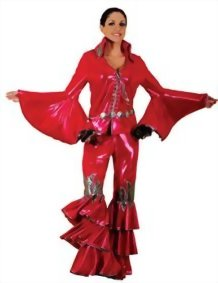 Womens-1970s-Disco-Queen-Rock-Star-Costume-Sold-Separately-Red-0