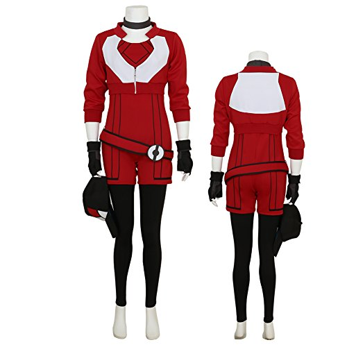 Women's Hoodie for Pokemon Go Red Team Valor Instinct Mystic Cosplay Costume