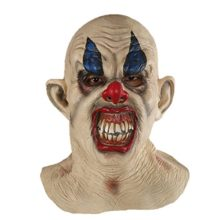 X-Merry-Scary-Creepy-Halloween-Clown-Evil-Latex-Mask-Smiling-Clown-0