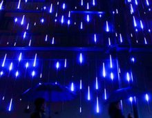 YSIM-Meteor-Shower-Rain-Lights-Twinkling-Romantic-Lights-for-Party-Wedding-Christmas-etc118inch-8-Tubes-0